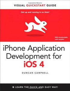 iPhone Application Development for iOS 4: Visual QuickStart Guide (Paperback)-cover