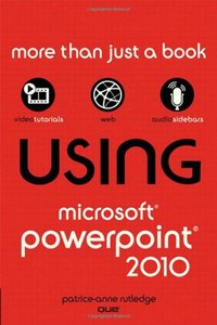 Using Microsoft PowerPoint 2010 (Paperback)-cover