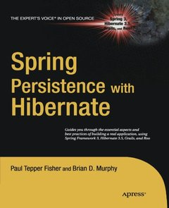 Spring Persistence with Hibernate (Paperback)-cover