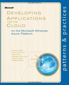 Developing Applications for the Cloud on the Microsoft Windows Azure Platform (Paperback)-cover