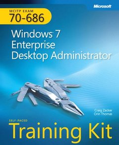 MCITP Self-Paced Training Kit (Exam 70-686): Windows 7 Desktop Administrator (Paperback)-cover