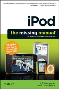 iPod: The Missing Manual, 9/e (Paperback)-cover