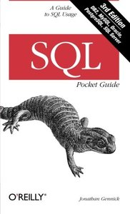 SQL Pocket Guide, 3/e (Paperback)-cover