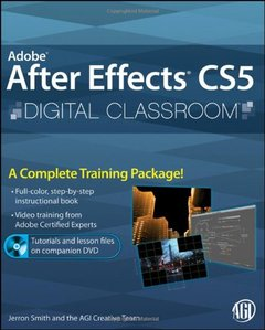 Adobe After Effects CS5 Digital Classroom (Paperback)-cover
