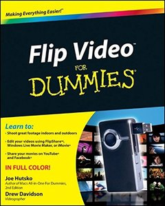 Flip Video For Dummies (Paperback)-cover
