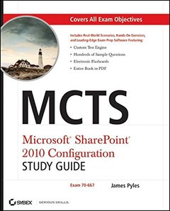 MCTS Microsoft SharePoint 2010 Configuration Study Guide: Exam 70-667 (Paperback)-cover