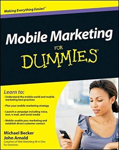 Mobile Marketing For Dummies (Paperback)-cover