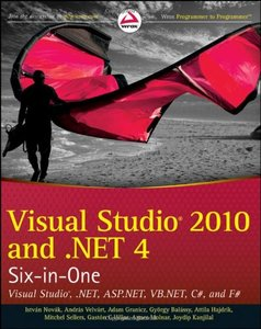 Visual Studio 2010 and .NET 4 Six-in-One (Paperback)-cover