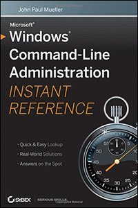 Windows Command Line Administration Instant Reference (Paperback)-cover