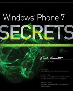 Windows Phone 7 Secrets (Paperback)-cover