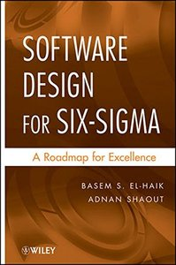 Software Design for Six Sigma: A Roadmap for Excellence (Hardcover)-cover