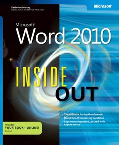 Microsoft Word 2010 Inside Out (Paperback)-cover