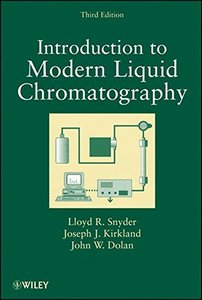 Introduction to Modern Liquid Chromatography , 3/e (Hardcover)-cover