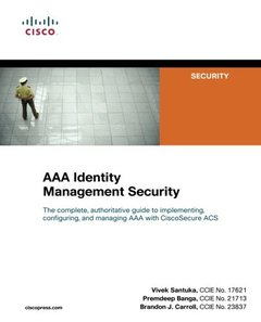 AAA Identity Management Security (Paperback)