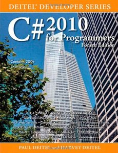 C# 2010 for Programmers, 4/e (Paperback)-cover