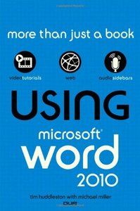 Using Microsoft Word 2010 (Paperback)-cover