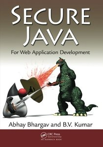 Secure Java: For Web Application Development (Paperback)-cover