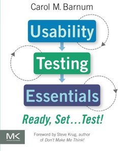 Usability Testing Essentials: Ready, Set...Test! (Paperback)-cover
