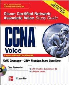 CCNA Cisco Certified Network Associate Voice Study Guide (Exams 640-460 & 642-436) (Paperback)-cover