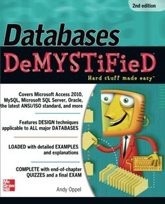 Databases DeMYSTiFieD, 2/e (Paperback)-cover
