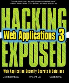 Hacking Exposed Web Applications, 3/e (Paperback)-cover