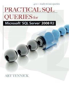 Practical SQL Queries for Microsoft SQL Server 2008 R2 (Paperback)-cover