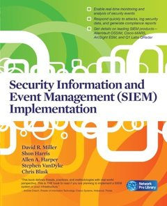 Security Information and Event Management (SIEM) Implementation (Paperback)-cover