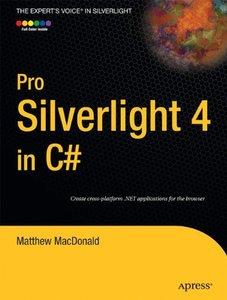 Pro Silverlight 4 in C#, 3/e (Paperback)-cover