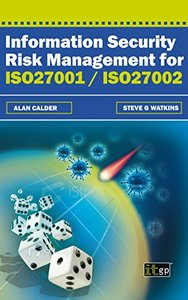 Information Security Risk Management for ISO27001 / ISO27002 (Paperback)-cover