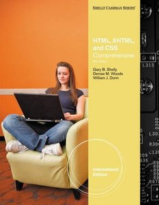 HTML, XHTML, and CSS: Comprehensive, 6/e (IE-Paperback)