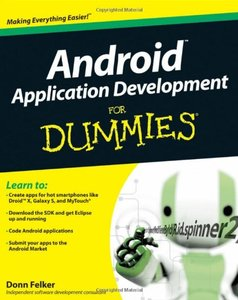 Android Application Development For Dummies (Paperback)-cover
