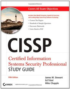 CISSP: Certified Information Systems Security Professional Study Guide, 5/e (Paperback)
