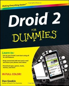 Droid 2 For Dummies (Paperback)-cover