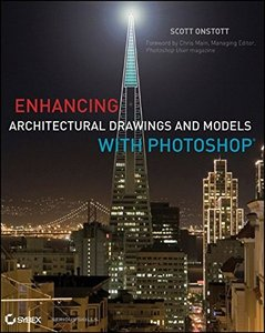 Enhancing Architectural Drawings and Models with Photoshop (Paperback)-cover