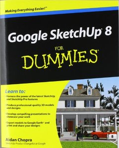 Google SketchUp 8 For Dummies (Paperback)-cover