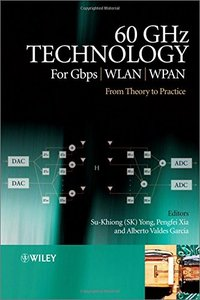 60GHz Technology for Gbps WLAN and WPAN: From Theory to Practice (Hardcover)-cover
