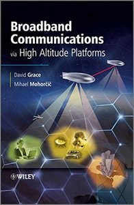 Broadband Communications via High-Altitude Platforms (Hardcover)-cover