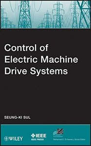 Control of Electric Machine Drive System (Hardcover)-cover