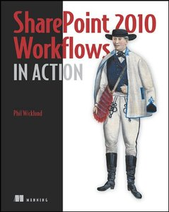 SharePoint 2010 Workflows in Action (Paperback)-cover