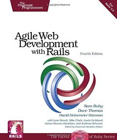 Agile Web Development with Rails 3.2, 4/e (Paperback)-cover