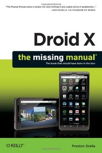 Droid X: The Missing Manual (Paperback)-cover