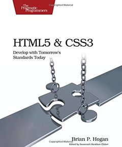 HTML5 and CSS3: Develop with Tomorrow's Standards Today (Paperback)-cover
