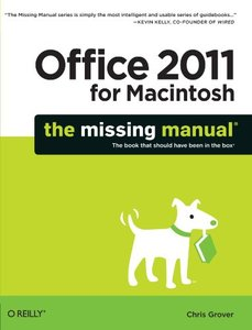 Office 2011 for Macintosh: The Missing Manual (Paperback)-cover