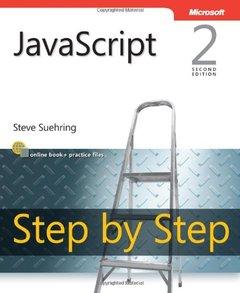JavaScript Step by Step, 2/e (Paperback)-cover