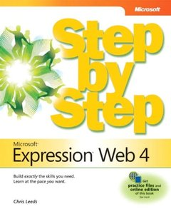 Microsoft Expression Web 4 Step by Step (Paperback)-cover