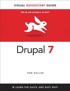 Drupal 7: Visual QuickStart Guide (Paperback)-cover