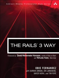 The Rails 3 Way, 2/e (Paperback)-cover
