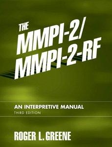 The MMPI-2/MMPI-2-RF: An Interpretive Manual, 3/e (Hardcover)-cover