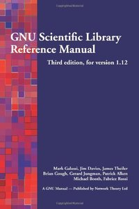 GNU Scientific Library Reference Manual, 3/e (Paperback)-cover