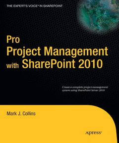 Pro Project Management with SharePoint 2010 (Paperback)-cover